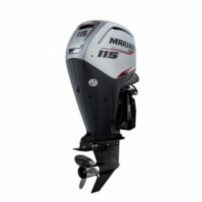 115HP Mariner F115ELPT CommandThrust Long Shaft Power Trim EFi 4 Stroke Remote Control Outboard Motor image